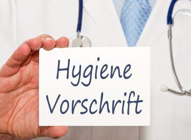 Hygienevorschriften Blanc-Hygienic