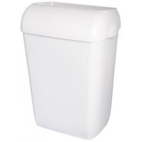 "Abfallbehälter, Mülleimer, ""Blanc"", 45-Liter hängend, Wandmontage, abnehmbar"