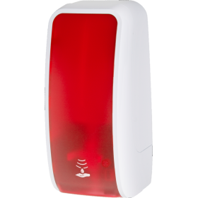 Desinfektionsspender SENSOR, berührungslos bis zu 1.000 Anwendungen je 1-Liter, blitzschneller Kartuschenwechsel, Blanc Cosmos