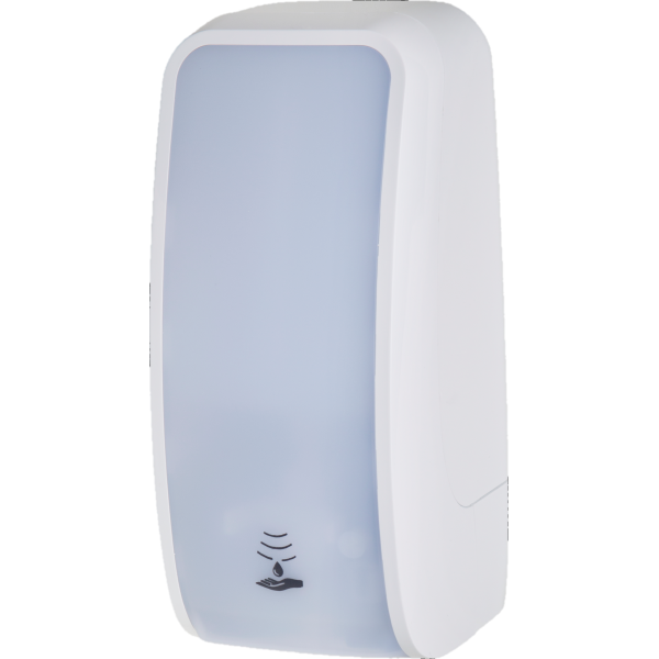 Desinfektionsspender SENSOR, 2.500 Anwendungen je 1-Liter, blitzschneller Kartuschenwechsel, Blanc Cosmos