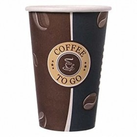Kaffeebecher Slim, Pappbecher Topline 12oz, Volumen: 0,30 l, Ø 80 mm, 1.000 Stk, Coffee To Go