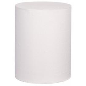 SET: Wisch- und Putzpapierspender für Innenabrollung + 6 Rollen, 2-lagig, 150m je Rolle, 100% Zellstoff, perforiert