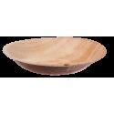 Schüssel rund, Palmblattgeschirr, 100 Stk, biologisch abbaubar, umweltfreundlich, Durchmesser 20 cm