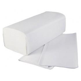 Falthandtuchpapier 2-lg, 100% Zellstoff, 24 cm x 11 cm (gefaltet), 2 x 3.200 (6.400 Tücher)