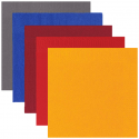 Servietten, 33er, 1/4 Falz, 3-lagig, 1.000 Qualitätsservietten, 100% Zellstoff, versch. Farben