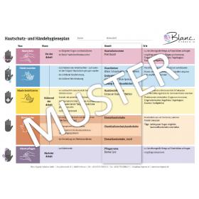 SET: Hautschutzprogramm, PROFI komplettset inklusive Spender, Füllmittel und Hautschutzplan nach Verordnung
