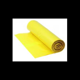 Qualitäts-Müllsack 120 Liter, gelb, 38my, 250 Beutel je SET