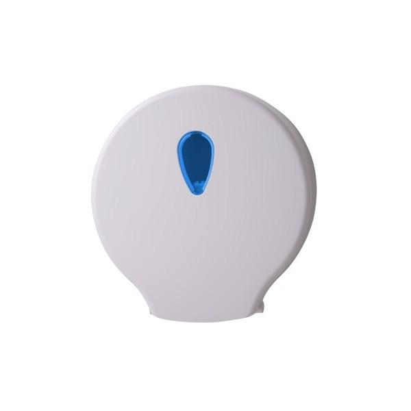 Jumbo-Toilettenpapierspender Midi, abschließbar, Kapazität: Ø max. 26 cm je Rolle