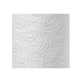 Küchenrolle weiß WEPA-comfort, 8x4 Rollen, 2-lagig, 2.048 Blatt, 26x22cm, saugstark, reißfest, 100% recyclebar, Strukturprägung