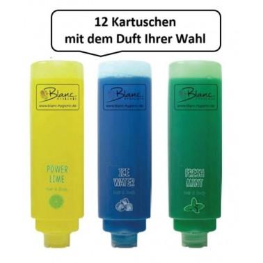 Mildes Dusch- und Haarshampoo 12x420ml verschiedene Düfte - HOTELSERIE