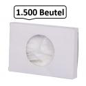 Damen-Hygienetüten/-beutel, aus solidem, wasserdichtem HD-PE, 1.500 Damenhygienebeutel je SET