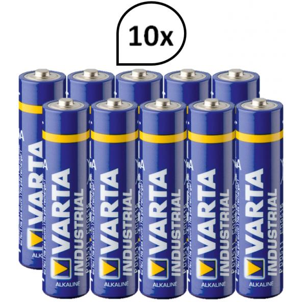 Batterien VARTA Industrial 4006 Blanc Cosmos Desinfektions-, Seifen- und WC-Reinigungsspender SENSOR 10 Batterien