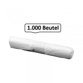 Müllbeutel hohe Qualität 30 Liter, weiß, 13my, 1.000 Beutel je SET