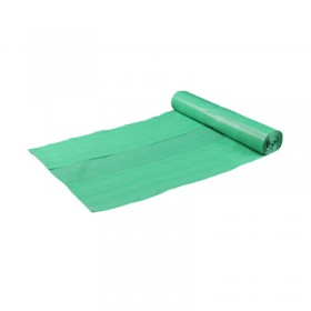 Müllbeutel, 500 Qualitäts-Müllsack 120 Liter, grün, 17my, HT-MÜLLBEUTEL