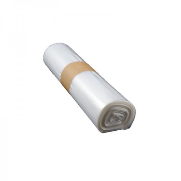 Qualitäts-Müllsack 120 Liter, transparent, 39my, 250 Beutel je SET
