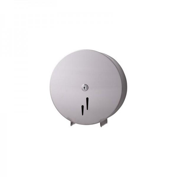 Jumbo-Toilettenpapierspender Maxi, Edelstahl matt, Kapazität: Ø max. 280 mm je Rolle