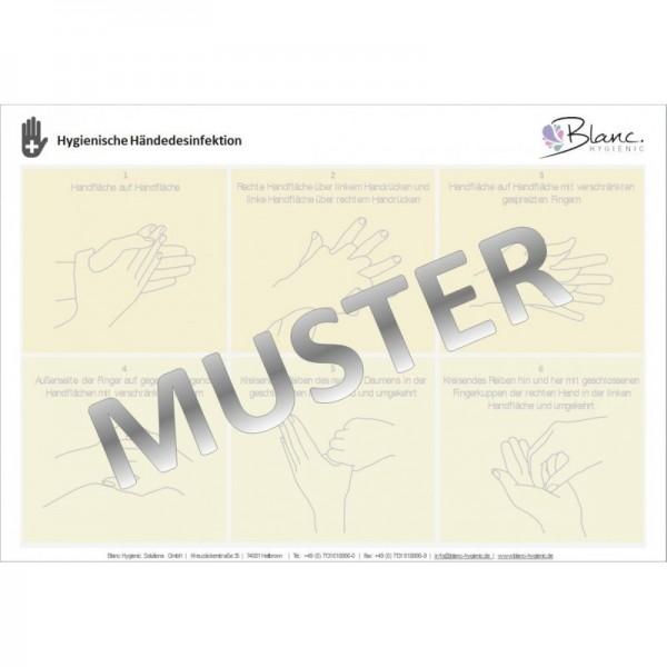 Bodenständer Edelstahl +Infotafel +prof. Hygieneplan (OHNE SPENDER)