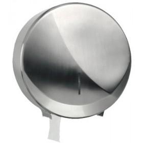 Jumbo-Toilettenpapierspender Futura Midi, Edelstahl gebürstet, Kapazität: Ø max. 220 mm je Rolle