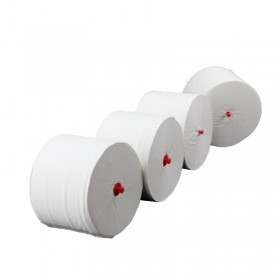 "Toilettenpapier Blanc ""Long Life 3L"", 3-lagig, 90m je Rolle, 100% Zellstoff, ERGIEBIG wie 152 Rollen, f. Blanc Cosmos Spender"