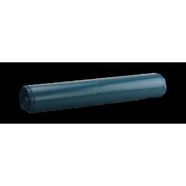 Müllsack hohe Qualität 120 Liter, blau, 31my, extra reißfest, 250 Beutel je SET