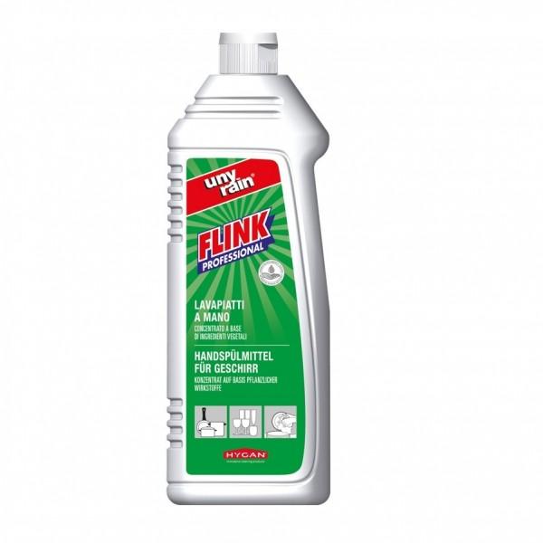 Handspülmittel, Hochkonzentrat 24 x 1 Liter Flasche für Gläser und Geschirr, pH-neutral, materialschonend, sehr ergiebig