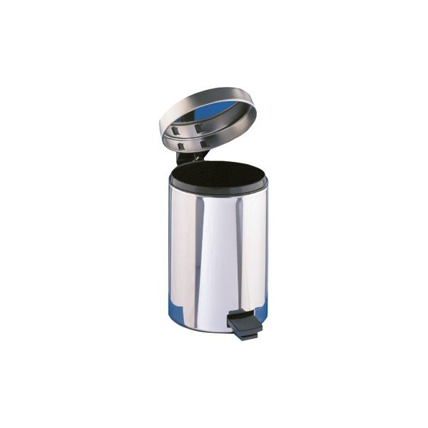 Badezimmer Abfallbehälter, Abfalleimer 5 Liter mit Fußpedal und Einsatzeimer