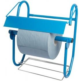 Putzrollenhalter FIX, für Wandmontage, mit Abfallsackhalterung, für Putzrollen bis 40 cm Breite