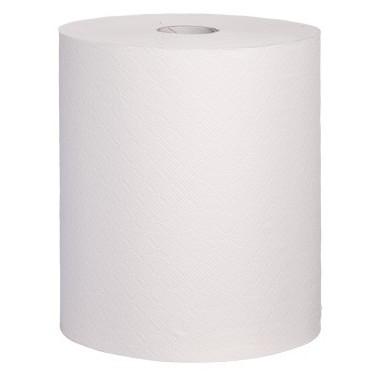 Handtuchrolle, Handtuchpapier SET, 3-lagig, 90m je Rolle, Zellstoff geklebt