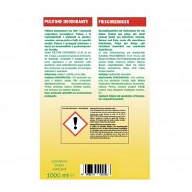 Profi-Frischreiniger, Seifenreiniger und Pflege für poröse Böden 24 x 1L Flaschen, schnell trocknend, Hochkonzentrat
