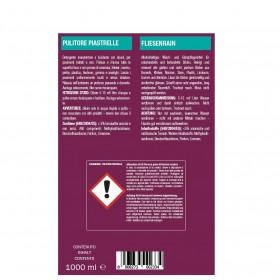 Profi-Unterhaltsreiniger und Wischpflege für glatte Böden 24 x 1 Liter Flaschen, trocknet rasch und streifenfrei, Hochkonzentrat