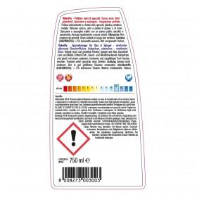 Profi-Alkoholreiniger, Glasreiniger, Spiegelreiniger, 24 x 750 ml Sprühflasche, trocknet schnell und streifenfrei, sehr ergiebig