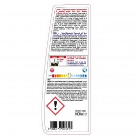 Neutrale Profi-Schmierseife, Hochkonzentrat 24 x 1 Liter Flasche, zur Reinigung und Entfettung von Geschirr, Oberflächen