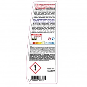 Profi-Handspülmittel, Hochkonzentrat 24 x 1 Liter Flasche für Gläser und Geschirr, pH-neutral, materialschonend, sehr ergiebig