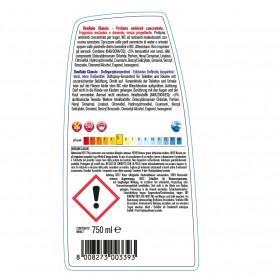 Profi-Deodorantkonzentrat mit Pumpzerstäuber, 24 x 750 ml Sprühflasche, sehr ergiebig, phosphatfrei, mit Parfümölen