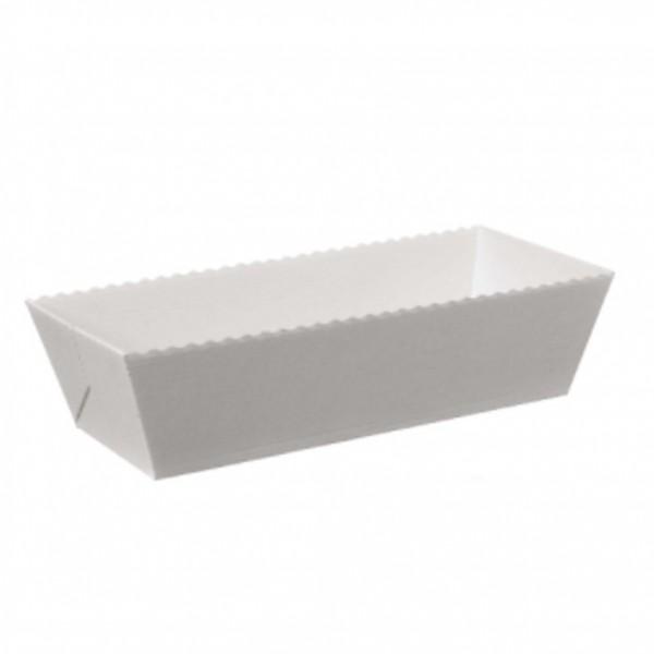 Papier-Backformen für Fleischkäse, 180 Stück, Volumen ca. 1000g, Backofen geeignet, geschmacksneutral, aluminiumfrei