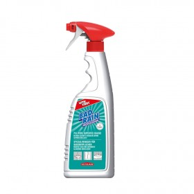Saurer Profi-Unterhaltsreiniger für Badoberflächen, 24 x 750 ml Sprühflasche, sehr ergiebig, materialschonend