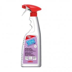 Profi-Spezialreiniger 24x750 ml Sprühflasche, für Glas & Plexiglas & alle waschbaren Oberflächen aus Kunststoff, Metall und Lack