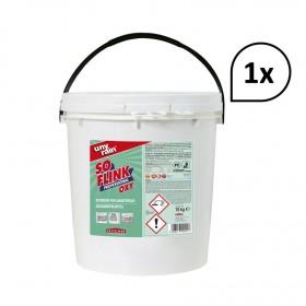 Maschinengeschirrspülmittel Pulver 1x10kg Eimer, mit Aktiv-Sauerstoff für gewerbliche & Haushaltsmaschinen im autom. Spülprozess