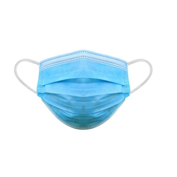 Medizinischer Mund-Nasen-Schutz, OP-Maske, 2.000 Stk. Atemschutzmaske, Einwegmaske EN 14683:2019 + AC:2019, Typ IIR