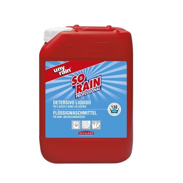 Profi-Flüssigwaschmittel für weiße Wäsche, 1x10 l Kanister, für die besonders effiziente Hand- und Maschinenwäsche