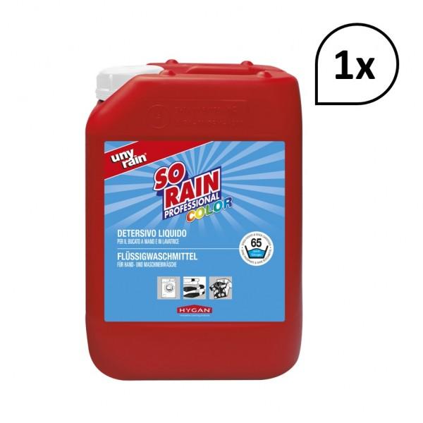 Profi-Flüssigwaschmittel für Buntwäsche, 1 x 5 l Kanister, für die Hand- und Maschinenwäsche, sehr ergiebig, umweltfreundlich