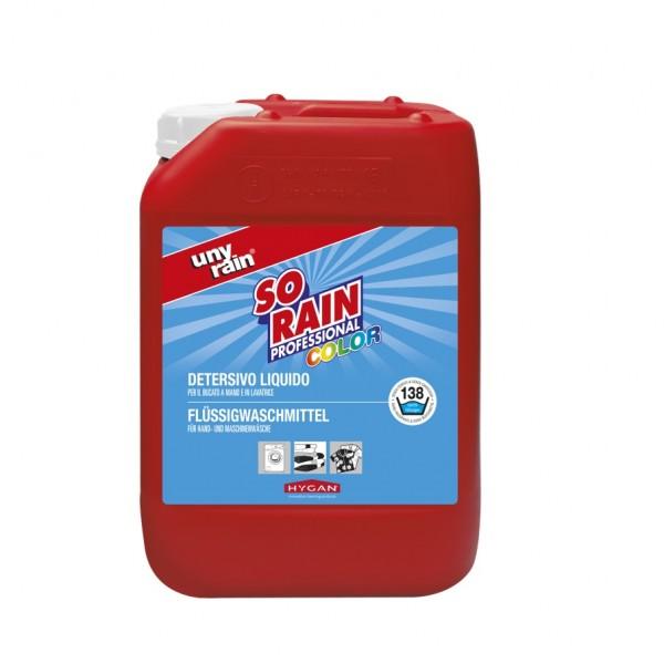 Profi-Flüssigwaschmittel für Buntwäsche, 1 x 10 l Kanister, für die Hand- und Maschinenwäsche, sehr ergiebig, umweltfreundlich