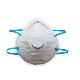 FFP2-Mundschutzmaske mit Ventil original & zertifiziert, 600 Stk., Mund- und Nasenmaske, Einwegmaske, EN 149:2001 + A1:2009