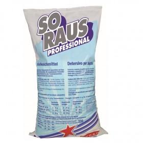 Profi-Kräftiges Vorwaschmittel, 1 x 20 kg Sack, mit starker Fettlösekraft zum Vorwaschen, für gewerbliche Waschmaschinen