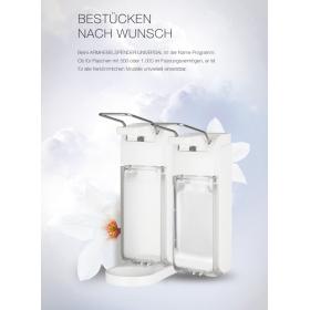 Armhebelspender Universal von Blanc, Desinfektionsspender, Seifenspender