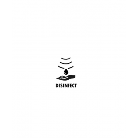 SET: Desinfektionsspender SENSOR Cosmos+3x1L Händedesinfektion+Edelstahlhalterung  mit Auffangschale Wandmontage