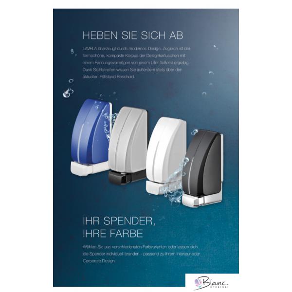 SET: Haut- & Händedesinfektion 6x 1-Liter, 12.000 Anwendungen + 2x Lavela Spender - PRODUKTSET