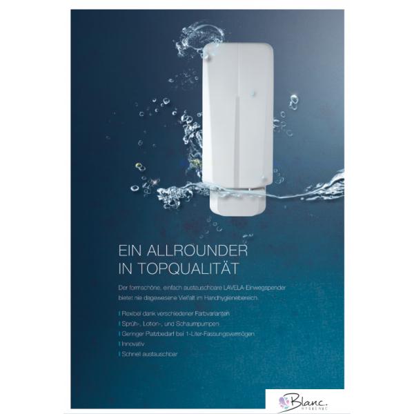 SET: Schaumseife mild 6x 1-Liter, 15.000 Anwendungen + 2x Lavela Spender - PRODUKTSET