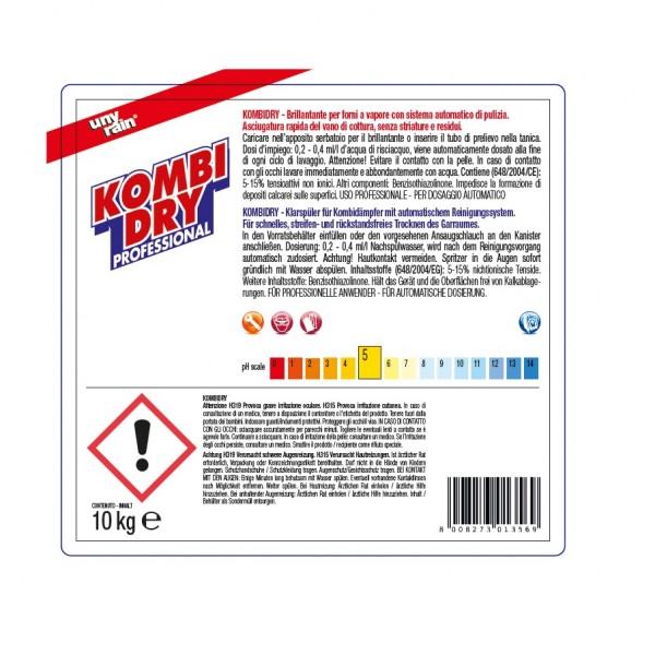 Profi-Klarspüler für Kombidämpfer mit autom. Reinigungs- und Spülsystem 1 x 10 l Kanister