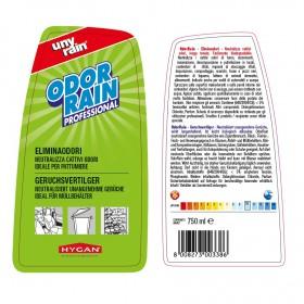 Profi-Geruchsvertilger, 24 x 750 ml Sprühflasche, neutralisiert unangenehme Gerüche, sehr ergiebig, Vorteilspack